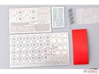 HD020240 Porsche 911 GT2(993) detail set (PE+resin+metal parts) for TAM Multimedia Accessoires