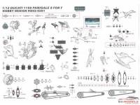 HD020291 Ducati 1199 Panigale S detail set (PE+metal parts+resin) for TAM Multimedia Accessoires