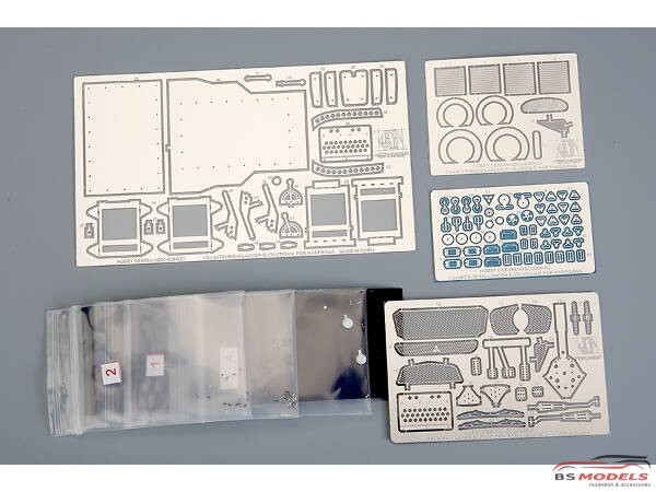 HD020365 Mitsubishi Lancer EVO IV detail set (PE+metal parts+resin) For HAS Multimedia Accessoires
