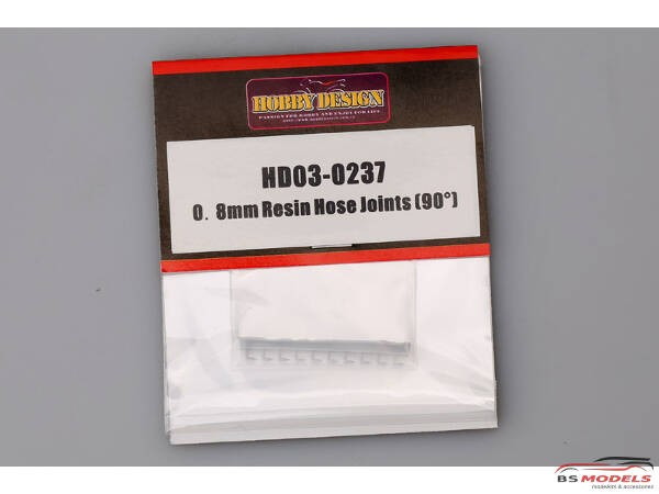 HD030237 0.8 mm Resin Hose joints (90°) Resin Accessoires