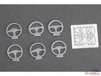 HD030375 Steering wheels (resin+PE)  6 pcs Multimedia Accessoires