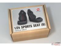 HD030517 Sport seats B  (2pcs) Multimedia Accessoires
