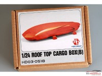 HD030518 Rooftop Cargo Box  B  (resin+decal) Multimedia Accessoires