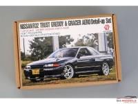 HD030520 Nissan R32 Trust Greddy&Gracer aero detail set (Fpr TAM24090) Multimedia Accessoires