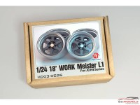 HD030526 Work Meister L1 wheels  18'  (resin wheels) Multimedia Accessoires