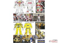 HD040002 Valentino Rossi #46 Figure & supplementary decals 2005 Waterslide decal Decal
