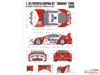 "HD040120 Toyota Supra GT  ""Zhuai""  1995 Waterslide decal Decal"