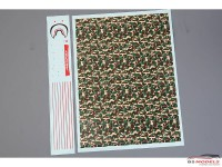"""HD040155 """"BAPE CAMO"""" style decal Waterslide decal Decal"""