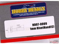 HD070009 1 mm Rivet Head (C)  40pcs Multimedia Accessoires