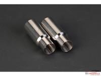 HD070081 Exhaust pipe  100 mm diameter  2pcs Multimedia Accessoires