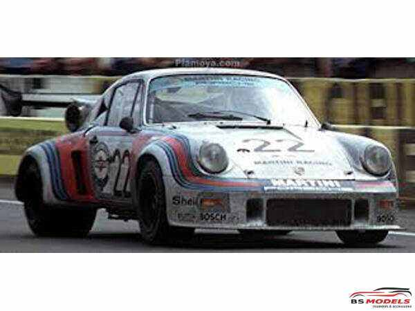 FUJ126487 Porsche 911 carrera RSR turbo #22  LM 1974 Plastic Kit