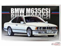 FUJ126500 BMW  M635 Csi Plastic Kit