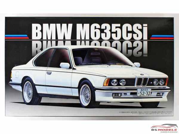 FUJ126500 BMW  M635 Csi Plastic Kit