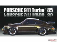 FUJ126593 Porsche 911 Turbo  1985 Plastic Kit