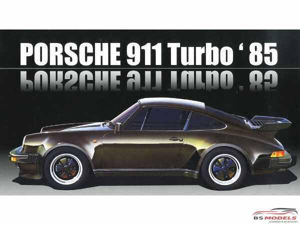 FUJ126593 Porsche 911 Turbo  1985 Plastic Kit