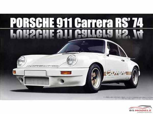 FUJ126616 Porsche 911 carrera RS  1974 Plastic Kit