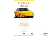 HAS20317 Porsche 968 CS Plastic Kit