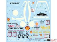 HAS20337 Porsche 962C  Shell  WSPC 1987 Plastic Kit