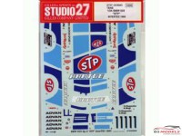 "STU27DC694C BMW 635 Csi  GR A  ""STP""  InterTEC  1985 Waterslide decal Decal"