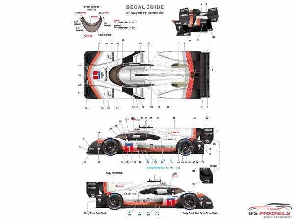 "STU27FD24016 Porsche 919 Hybrid EVO Spa-Francorchamps 2018  "" Record Lap time"" Multimedia Kit"