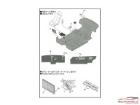 STU27FP24207 Nissan Skyline GTS-R (R31)  upgrade parts Etched metal Accessoires