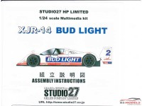 "STU27LPE2403 Jaguar XJR-14  IMSA  ""BUD LIGHT""  1992 Multimedia Kit"