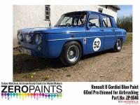 ZP1510 Renault 8 Gordini Blue paint 60ml Paint Material