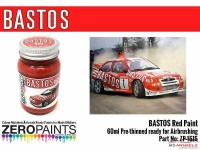 ZP1515 Bastos red paint  60ml Paint Material
