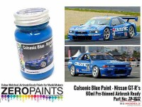 ZP1517 Calsonic blue paint 60ml Paint Material