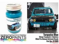 ZP1522 Shingo Yamamoto's Hakotora Turquoise blue paint 60ml Paint Material