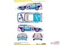 SK24018 Volvo 850 Estate BTCC 1994 Waterslide decal Decal