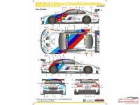 SK24073 BMW M6 GT3  Team Schnitzer  Master 2017 Waterslide decal Decal