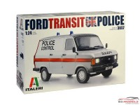 ITA3657 Ford Transit UK Police Plastic Kit