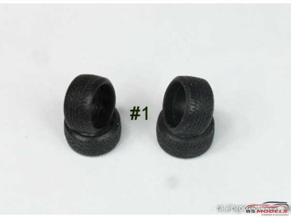 "SPRF24096 16"" Fuchs  wheels + tires (tread) Multimedia Accessoires"