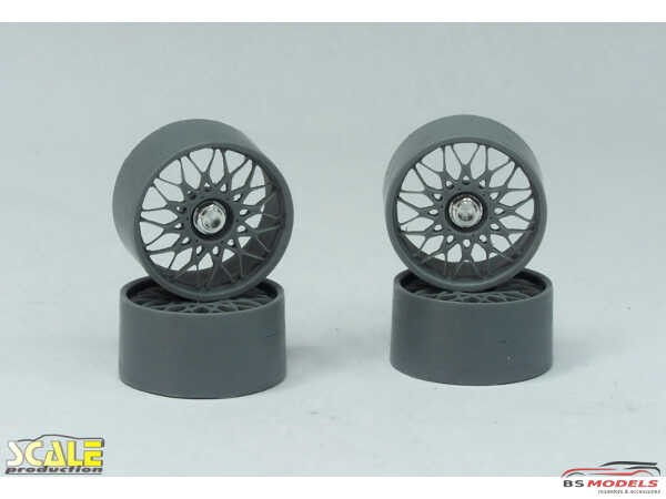 "SPRF24123 18"" BBS DTM  wheels + wheel nuts Multimedia Accessoires"