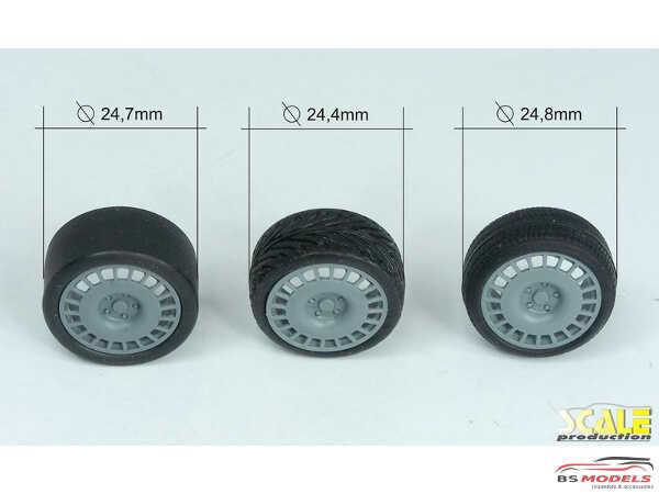 "SPRF24125 17"" OZ Racing wheels & tires Multimedia Accessoires"