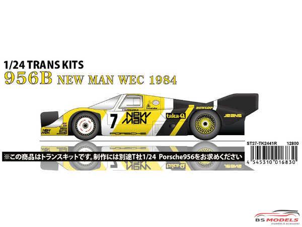 STU27TK2441 Porsche 956B  #7 WEC 1984  Transkit Multimedia Transkit