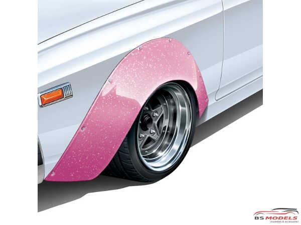 AOS054390 Star 5 (5h)  14 inch rim + tyres Plastic Kit