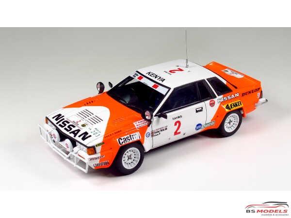 BEE24014 Nissan 240 RS (BS110) Safari rally 1984 Plastic Kit