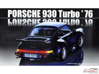 FUJ126609 Porsche 930 turbo 1976 Plastic Kit