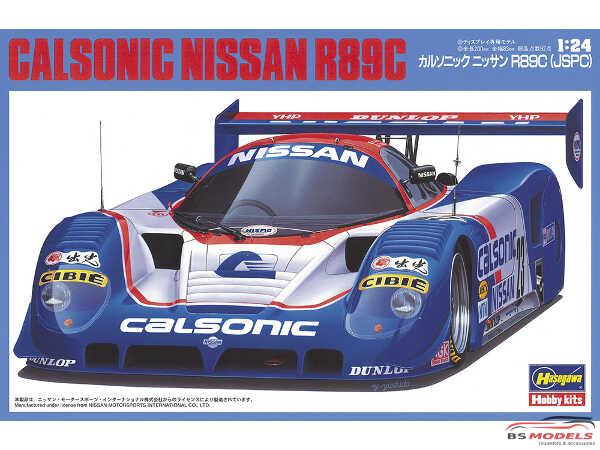 HAS20245 Nissan R89C  Calsonic  (JSPC) Plastic Kit