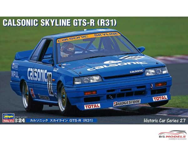 HAS21127 Nissan Calsonic Skyline GTS-r  R31 Plastic Kit