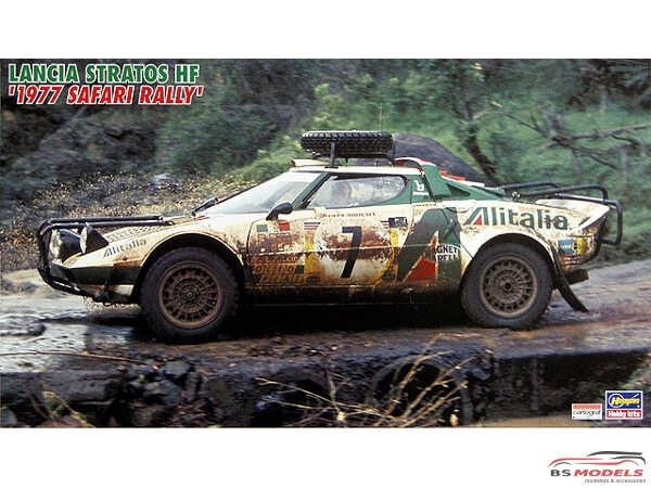 HAS25036 Lancia Stratos HF  Safari Rally 1977 Plastic Kit