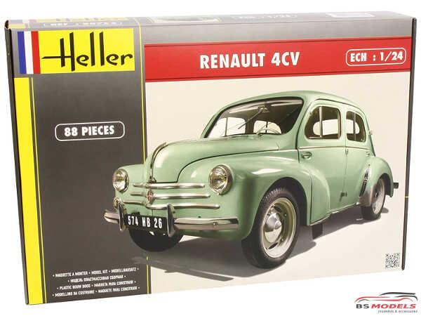 HEL80762 Renault 4 CV  '57 Plastic Kit