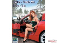 "MB24021 Claire ""Catch me if you can"" figure Plastic Kit"