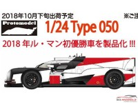 PM001 Toyota TS050 winner Le Mans 2018 Resin Kit