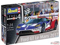 REV07041 Ford GT Le Mans 2017 Plastic Kit