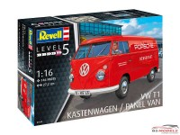 REV07049 VW T1 Kastenwagen Plastic Kit
