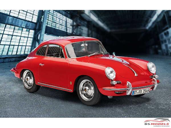REV07679 Porsche 356 B  (pre-painted) Plastic Kit