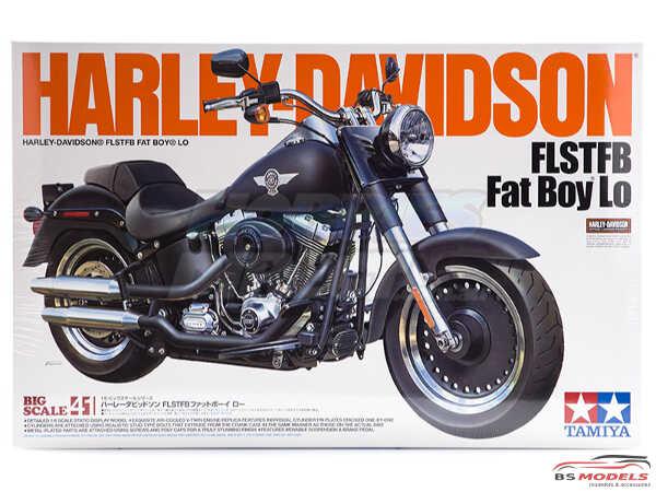 TAM16041 Harley Davidson FLSTFB  FAT Boy Lo Plastic Kit
